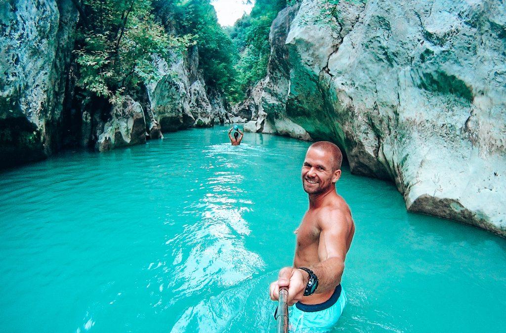 Glyki river, Greece