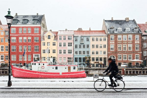 Snow in Denmark