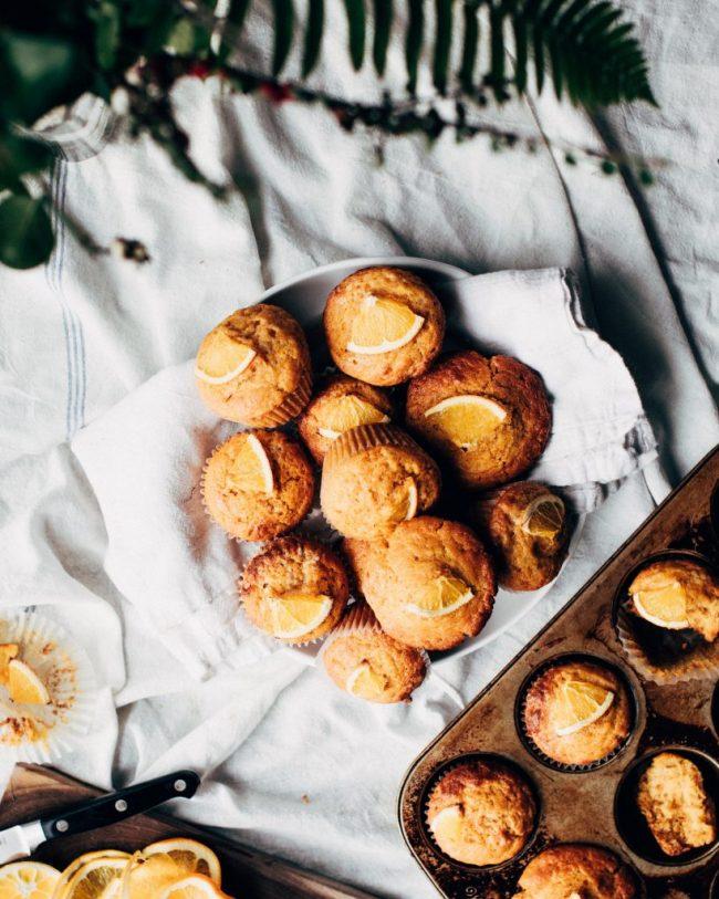 Cupcakes orange