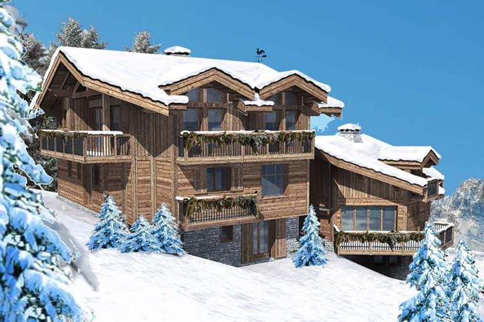 courchevel chalet