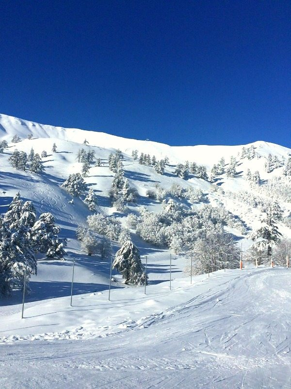 Winter wonderland in Greece