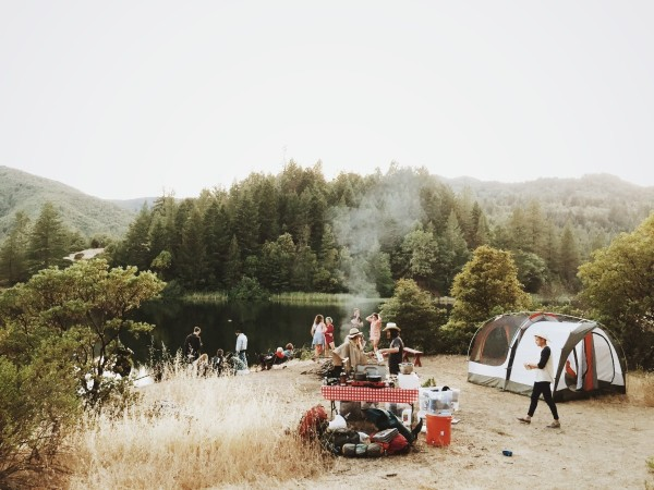 travel trend camping