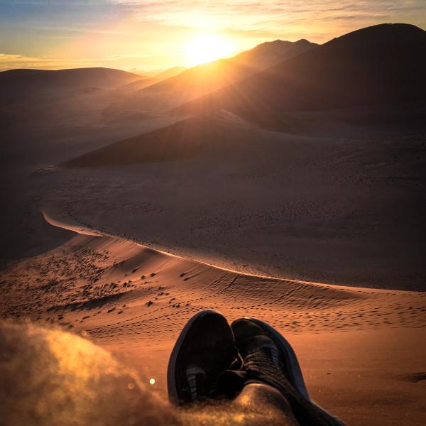 Yolan psot in Namibia-Dune