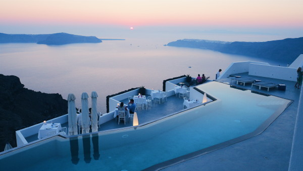 One of the best Honeymoon suites in Santorini