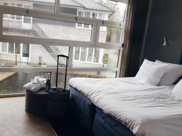 Blooming Hotel room