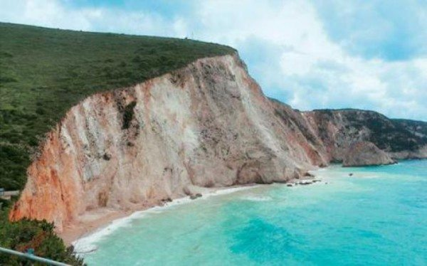 Porto Katsiki after landslide