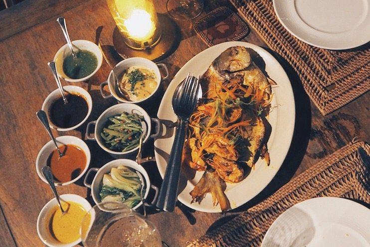 dinner at Jala, Langkawi