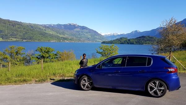Driving around Switzerland in the Peugeot 308GT