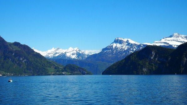 Boat trip over Lake Lucerne
