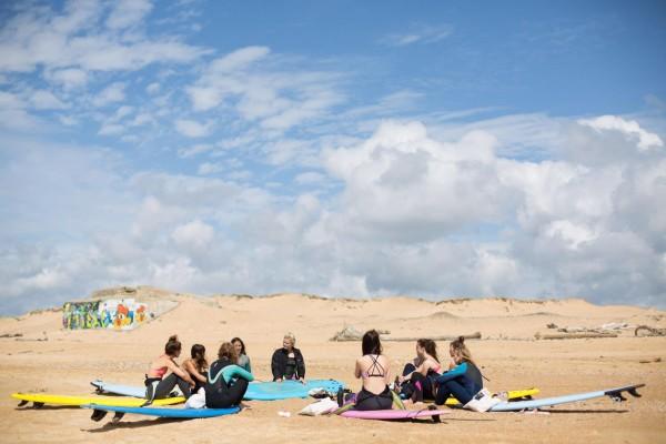surf trip Labenne