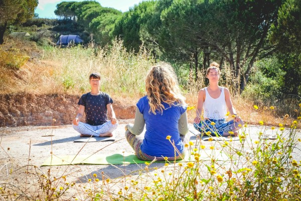 Yoga at Into the Wild Algarve