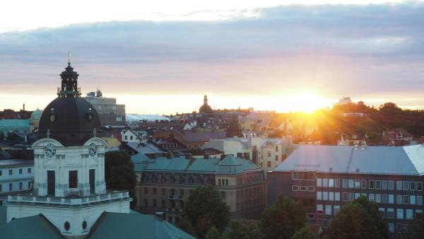 Stockholm Urban Bistro rooftop