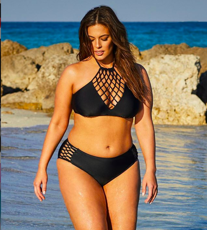 Ashley Graham bikini baes