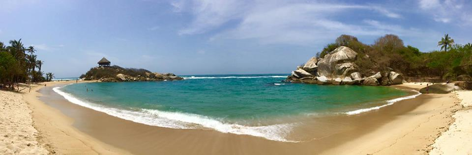Tyrona beach Colombia