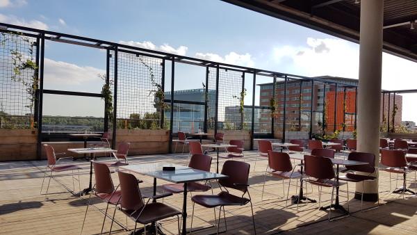 Rooftop restaurant bureau amsterdam