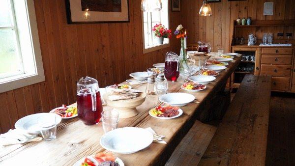 Dinner in Norway