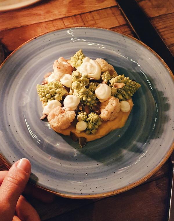 Dinner at Cafe Zurich