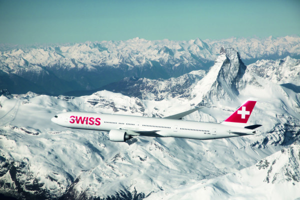 Swiss in the sky