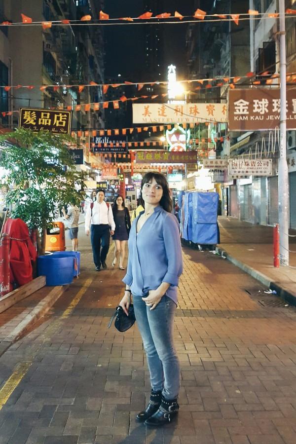 Elke in Hong Kong