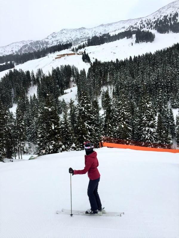 skiing in Zillental