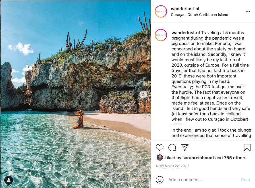 Travel Instagram accounts, Wander-Lust