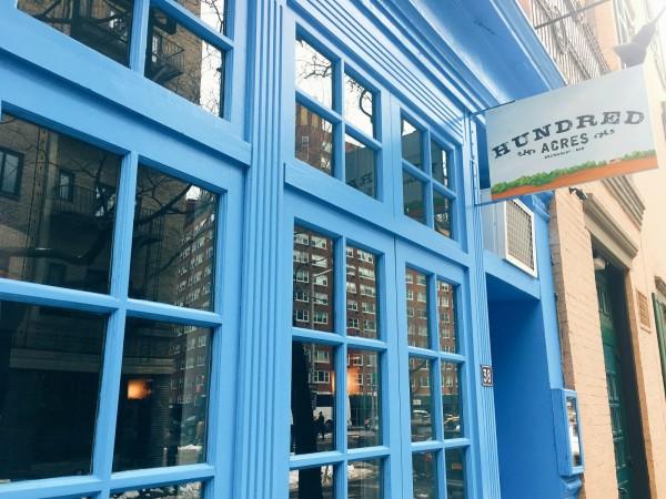 Hundred Acres, best breakfast spots in West Village