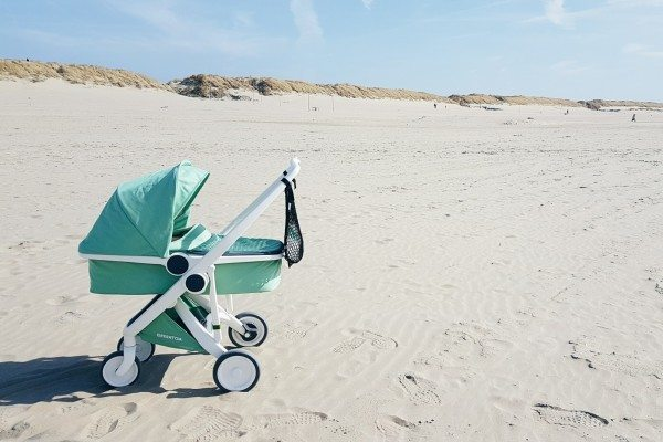 Greentom on the beach