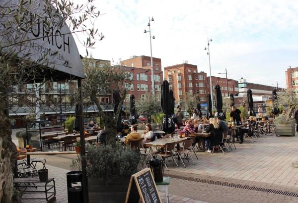 Cafe Zurich terrace Amsterdam