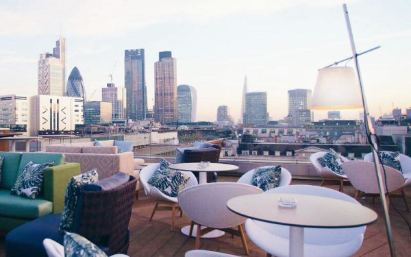 The Best Terraces and Rooftops in East London