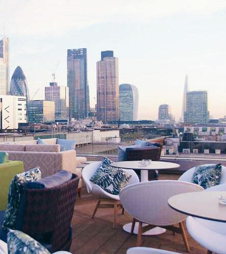 Best rooftops East London