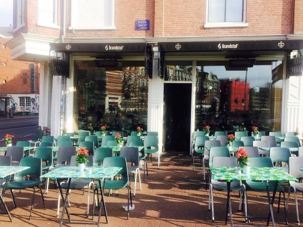 Cafe Brandstof Amsterdam terrace