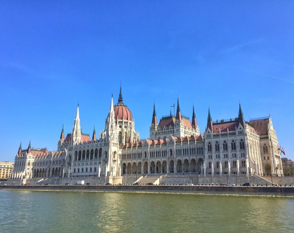 Parliament by day Budapest