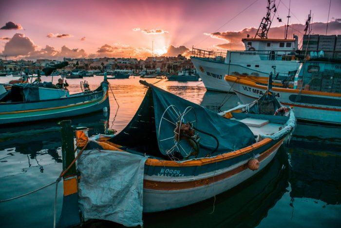 Boats on Matla