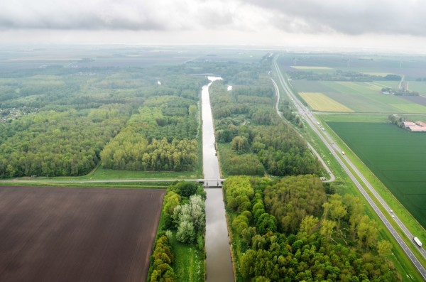 Flevoland from above
