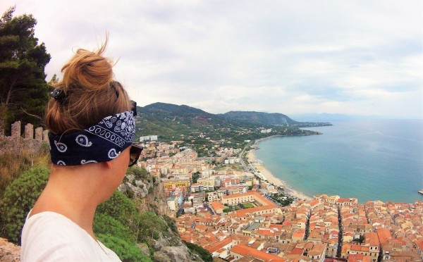 Sicily Cefalu view point