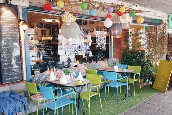 Mezebar Bodrum, vegan spots in Amsterdam
