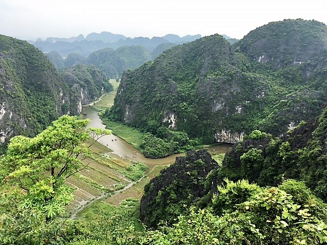 Northern Vietnam, Tam coc - viewpoint