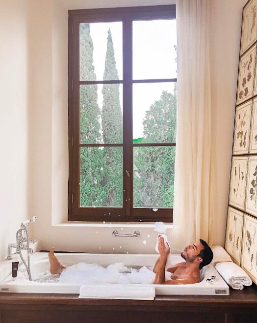 João loves a bit of luxury