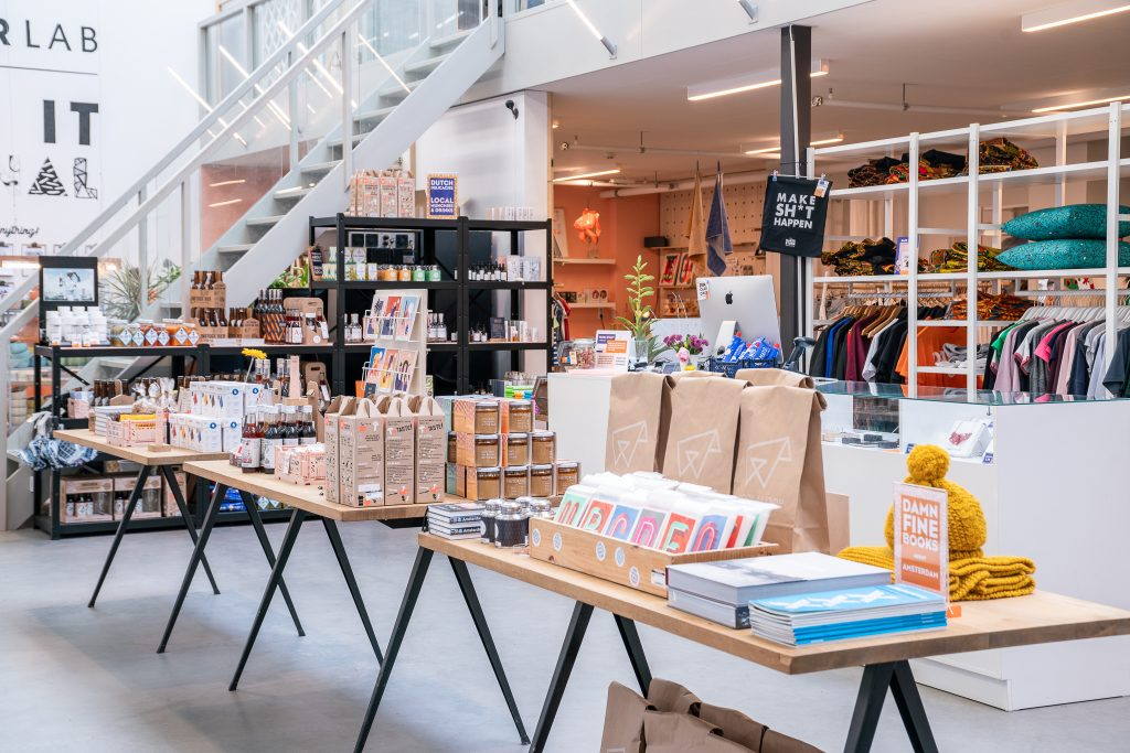 The Makersstore Concept stores in Amsterdam