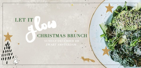 Go with the glow Christmas brunch