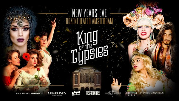 King of the Gipsies, New Years Eve parties in Amsterdam