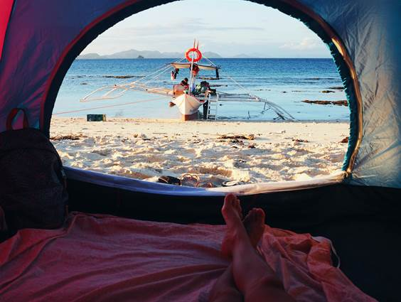 Traveling without having a care in the world