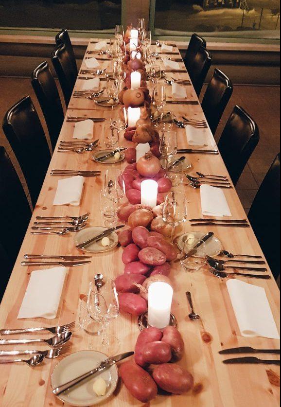 Dinner at Fôr, Kvitfjell