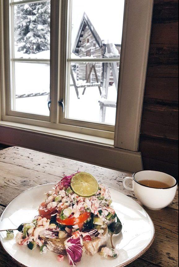 Lunch at Kvitfjell