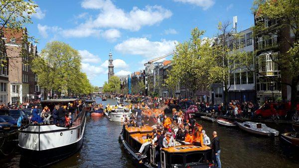 Amsterdam Event Calendar for April 2018 Kingsday Special
