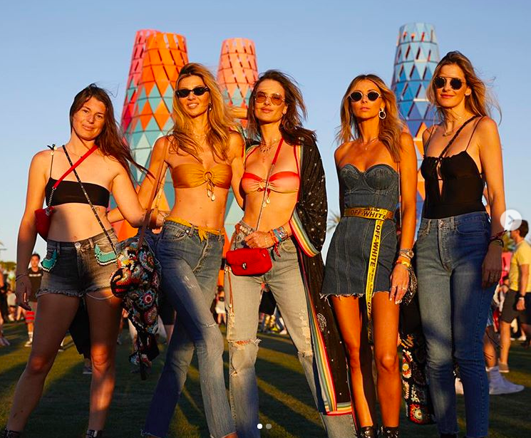 Denim at Coachella