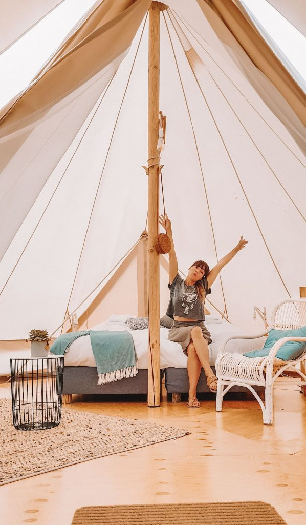 Glamping at Zwier