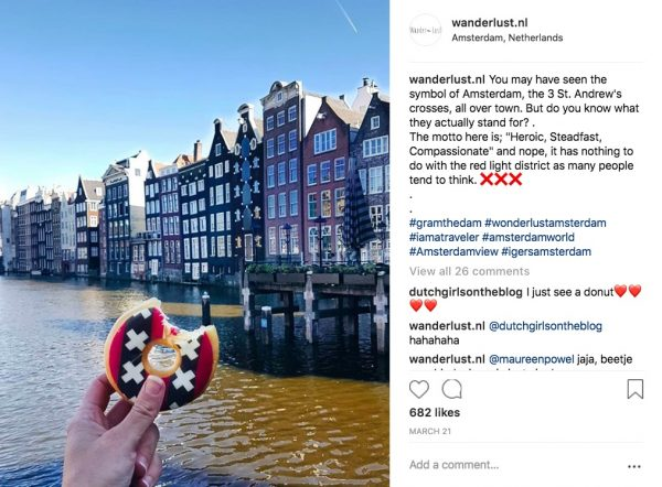 Dunkin Donut Amsterdam