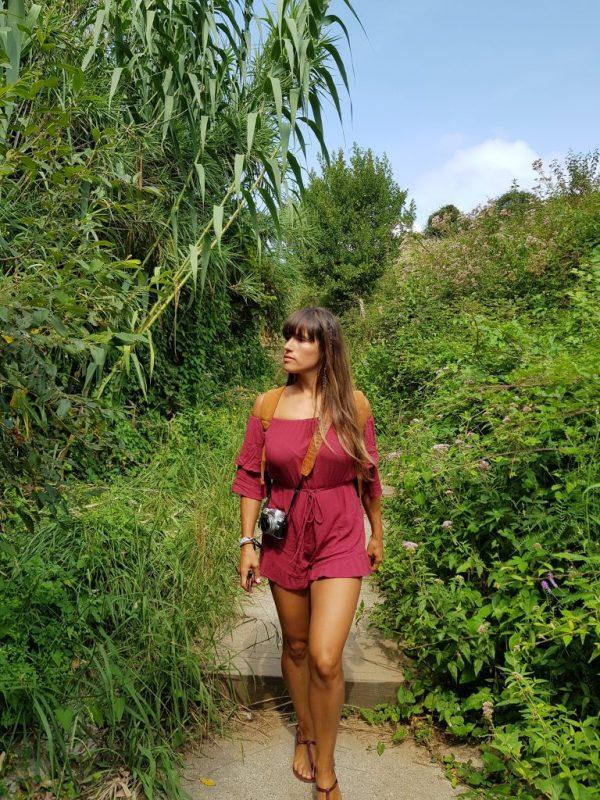 walking in Zarautz