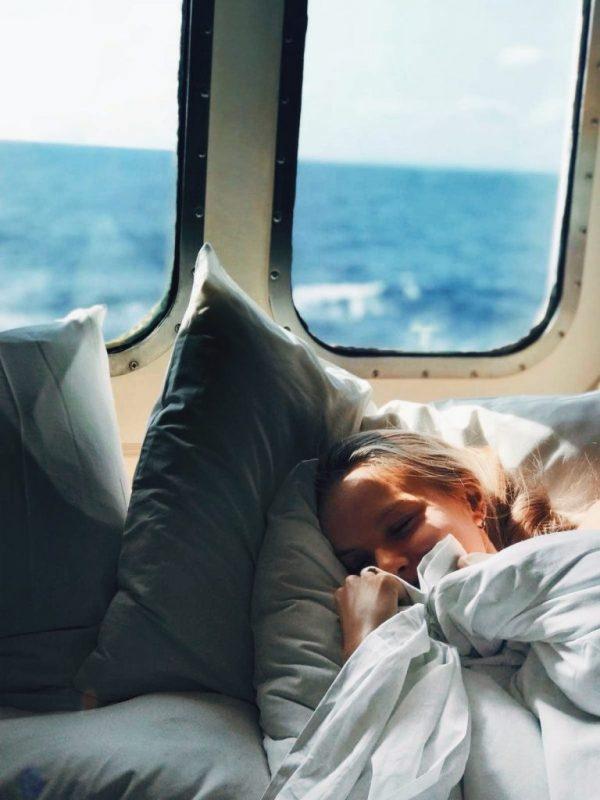 Sleeping on the Ark Cruise